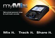 AT MIXE MED myMix - Kinovox