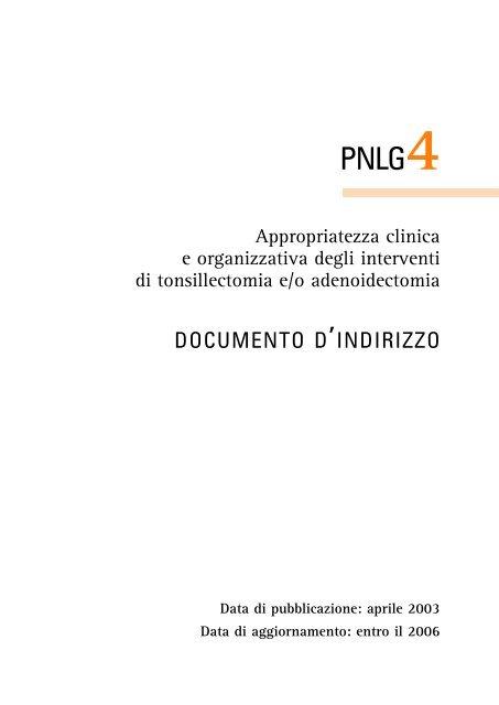 Il documento (formato pdf) - SNLG-ISS