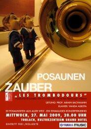 POSAUNEN - Kulturzentrum Grand Hotel