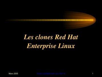 Clones de Redhat Enterprise Linux
