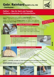 FalZinc® – Neu für Dach und Fassade! Falzbares Aluminium mit ...