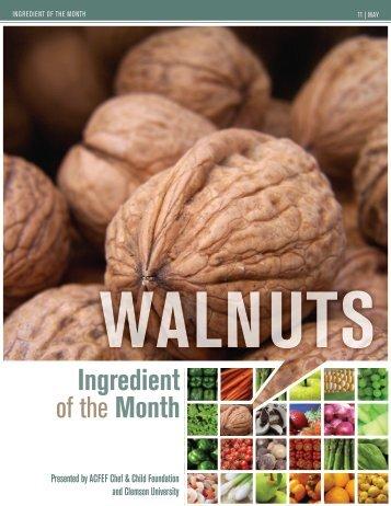 Walnuts - American Culinary Federation