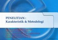 Metodologi Penelitian - kelompok keilmuan geodesi - ITB