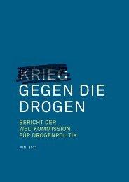 bericht der weltkommission für drogenpolitik - Global Commission ...
