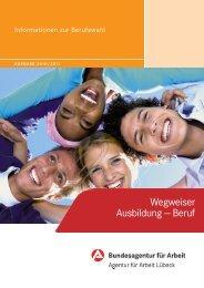 Wegweiser Ausbildung - planet-beruf regional - Planet Beruf.de
