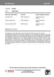 Kurzfassung Stand B1 - Bosch-Career