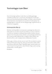 Textvorlagen zum Ãœben - Ernst Reinhardt Verlag
