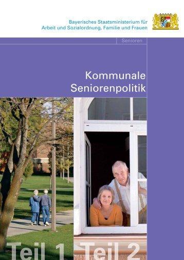 Kommunale Seniorenpolitik - Regierung von Oberbayern