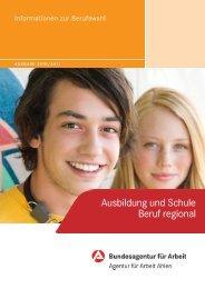 Ausbildung und Schule Beruf regional 2010/2011 - planet-beruf ...