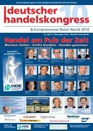 Der Top-Jahreskongress für den deutschen Einzelhandel und