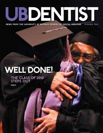 well done! - UB Dental Alumni Association