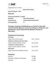 GA Scala - BASF Pflanzenschutz Österreich