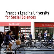 France's Leading University for Social Sciences - Sciences Po