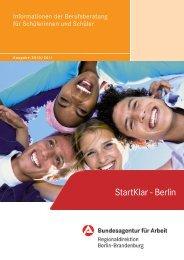 StartKlar - Berlin - planet-beruf regional - Planet Beruf.de