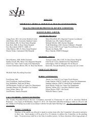 trauma procedure/protocol review committee august 15, 2012 - 1:00