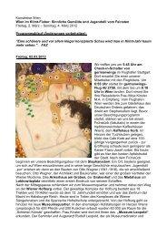 Kunstreise Wien Wien im Klimt-Fieber: Sinnliche Gemälde und ...