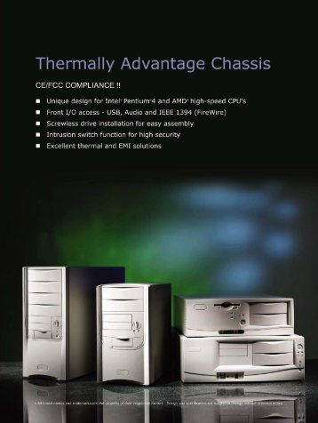 Thermally Advantage Chassis - Evercase