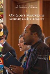 viewbook - The School of Theology - Sewanee