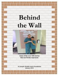 Read Behind the Wall - a compilation of stories from our staff ...