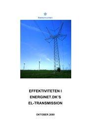 Effektiviteten i Energinet.dk's el-transmission.pdf. - Energitilsynet