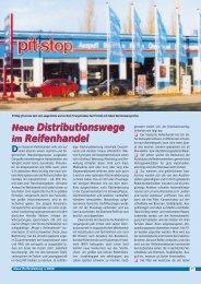 Neue Distributionswege im Reifenhandel Neue ... - Reifenpresse.de