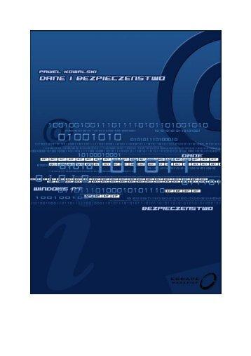 Dane i bezpieczenstwo.pdf - IPSec.pl