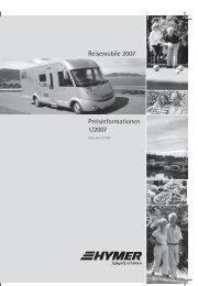Reisemobile 2007 Preisinformationen 1/2007 - Reisemobil ...