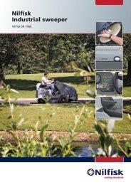 Nilfisk Industrial sweeper