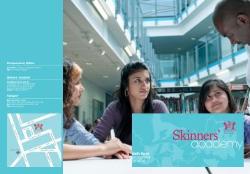 sixth form prospectus 2013/14 - Skinners' Academy