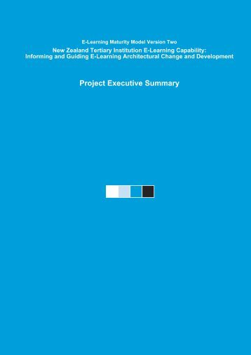 Executive Summary - Centre for Academic Development - Victoria ...