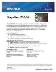 Royalite® R51/52 - Spartech Corporation