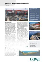 Busan-Geoje immersed tunnel (pdf) - Cowi