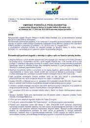 Vmesno poročilo I do IX 10 - Helios Group