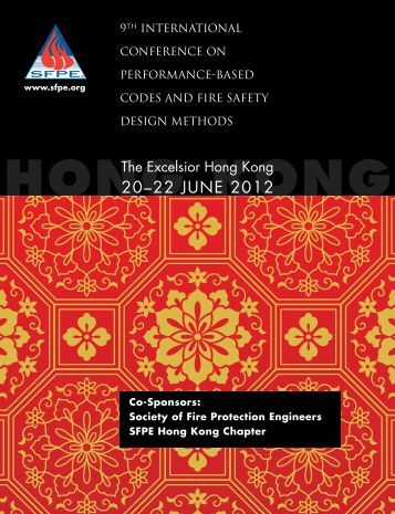 20–22 June 2012 - Society of Fire Protection Engineers