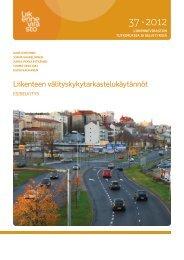 Liikenteen välityskykytarkastelukäytännöt - Liikennevirasto