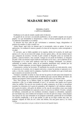 MADAME BOVARY - IDU