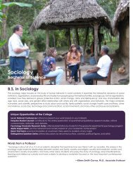 Sociology - College of Arts and Sciences - Nova Southeastern ...