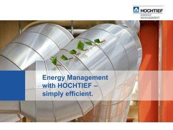 Hoch Tief - Energy Managment
