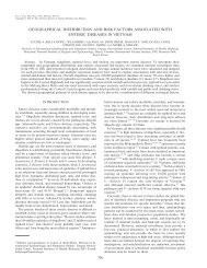 geographical distribution and risk factors - The American Journal of ...