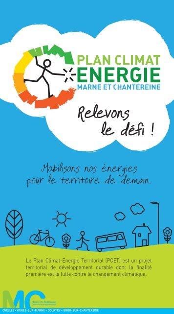 Le Plan Climat-Energie Territorial (PCET) - Communauté d ...