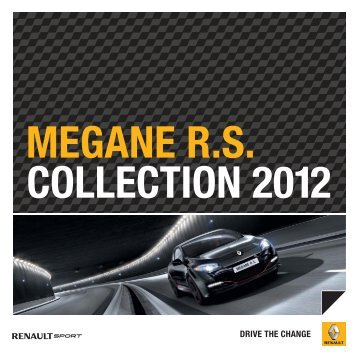 megane rs collection 2012 - Renault