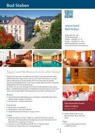 Tagen und Wellness in reizvoller Natur - relexa hotel Bad Steben
