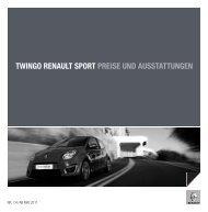 twingo renault sport preise und ausstattungen - Renault.ch