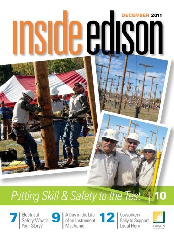 Putting Skill & Safety to the Test 10 - Inside Edison