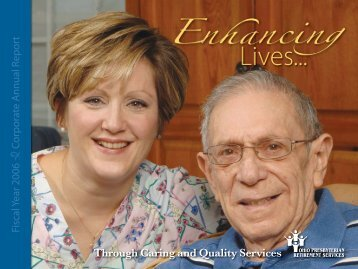 Through Caring and Quality Services - Ohio Presbyterian ...