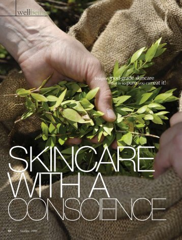 Skincare With A Conscience - Wuttke Group LLC