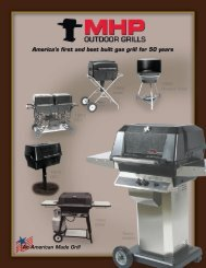 23055 MHP Grill Brochure - Modern Home Products