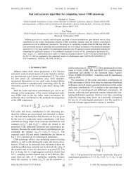 Fast and accurate algorithm for computing tensor CBR anisotropy