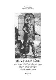ZAUBERFLOETE Materialsammlung 8.22 Mb - Theater Ulm