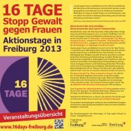 Programm 2013 als PDF - Kampagne 16 Tage - Stopp Gewalt ...